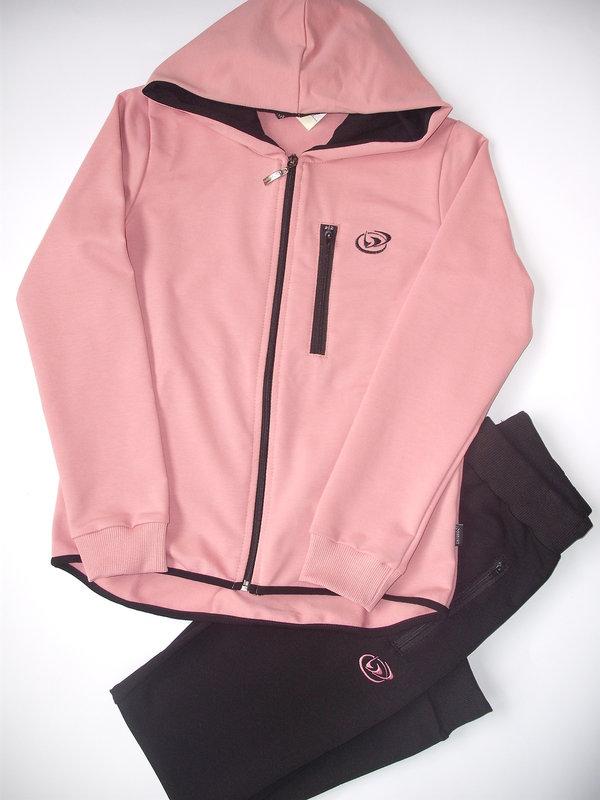 ecbe25f88ee Детски екип за момиче,цвят пепел от рози - Анцузи и комплекти за ...