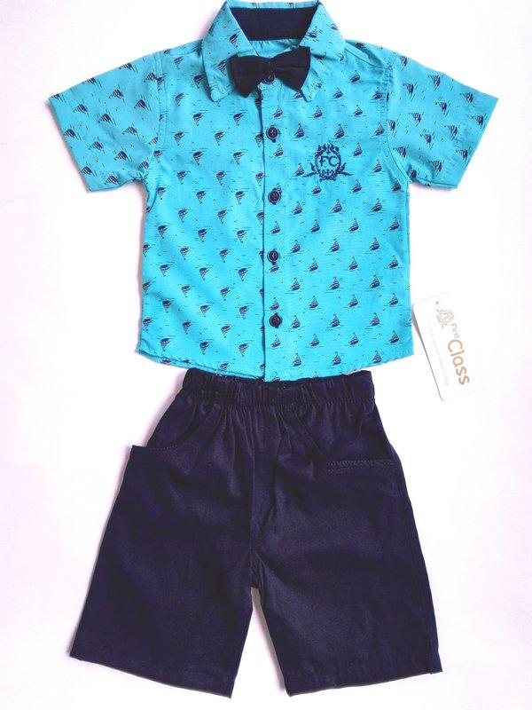 8cf5c6e3ce5 Комплект от три части,1-4г.,цвят син - Бебешки дрехи - Детски магазин  Лимбо,Детски дрехи Лимбо